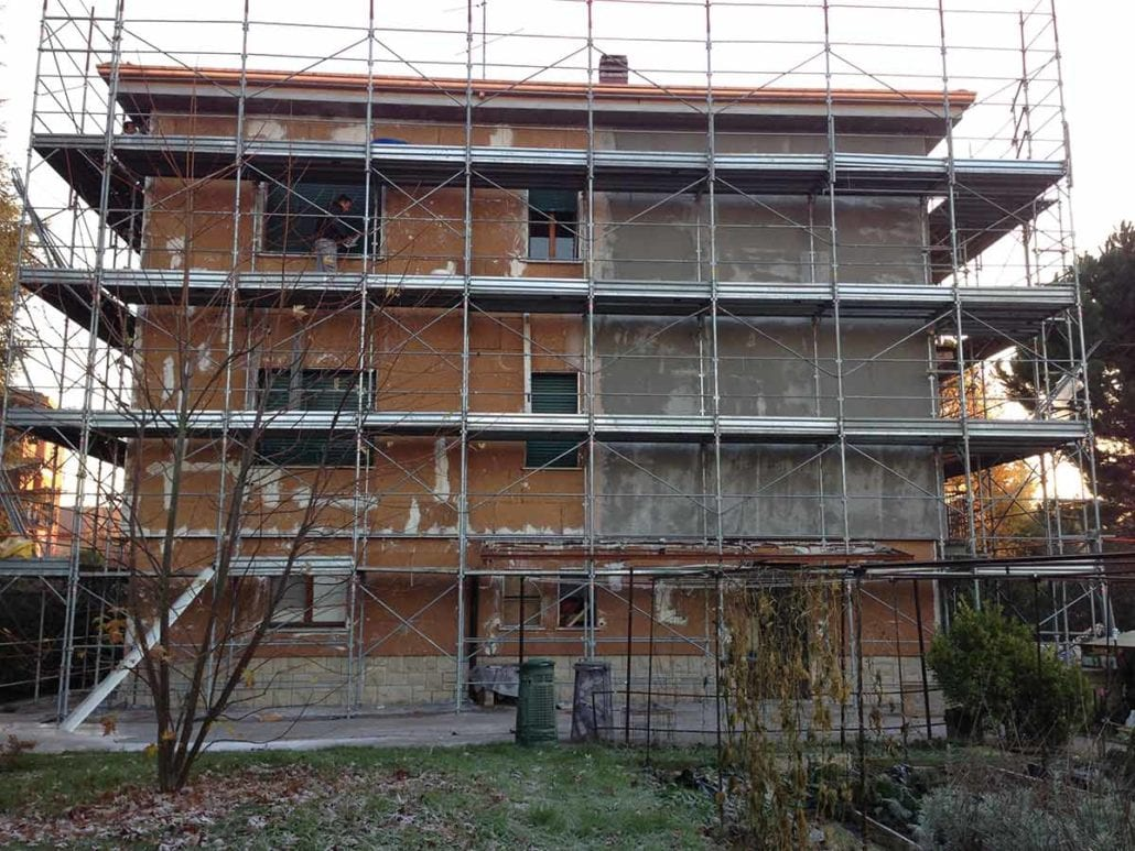 Restauro del patrimonio edilizio esistente